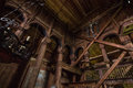 July 24, 2015: Details Inside Urnes Stave Church, UNESCO Site, I Stock Photos - 88489813