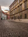 Old Cobble Street In Prague Castle District Stock Photography - 88501032