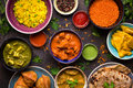 Assorted Indian Food Stock Photo - 88512770