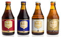 Bottles Of Chimay Blue, White, Blonde And Red Beer Stock Images - 88527354