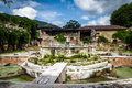Water Fountain In Ancient Convent Ruins - Antigua, Guatemala Royalty Free Stock Photos - 88569108