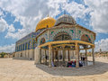 Dome Of The Chain Jerusalem Stock Photos - 88604363