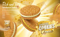 Cheese Sandwich Cookies Stock Images - 88606974