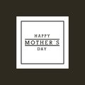 Happy Mother`s Day Design Stock Photo - 88661390