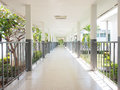 Perspective Of Walk Way Royalty Free Stock Images - 88686349