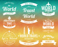 Set Of Vintage Travel Badges And Labels. Holiday Elements Icons. Travel And Tourism. Vector Stock Photography - 88687892