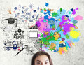 Creative And Analytical Thinking Concept Stock Image - 88722151