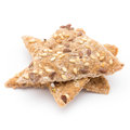 Toasted Pita Bread Chips With Herbal Seasoning. Royalty Free Stock Images - 88763169