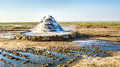 Radon Springs At The Bottom Of The Dried-up Aral Sea. Stock Photo - 88766500