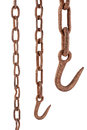 Rusty Chain And Hook Stock Photography - 88767842
