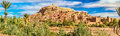 Panoramic View Of Ait Benhaddou, A UNESCO World Heritage Site In Morocco Stock Photos - 88789133