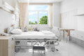 Hospital Room With Beds And Comfortable Medical Equipped In A Mo Stock Photography - 88792922