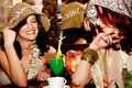 Girlfriends In Cafe Stock Photo - 8880470