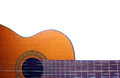 Acoustic Guitar On The White Background Stock Photography - 88830692
