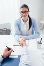 Successful Job Interview Royalty Free Stock Images - 88881619