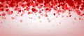 Love Valentine`s Banner With Hearts. Stock Photography - 88882312