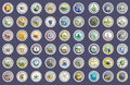Set Of Icons. States Of USA Seals. Stock Image - 88902951