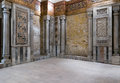 Interior View Of Decorated Marble Walls Surrounding The Cenotaph Royalty Free Stock Photography - 88911337