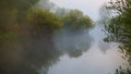 Misty Morning Over The River Stock Photos - 88961403