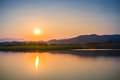 Sunset At Evening Sky Royalty Free Stock Images - 88983109