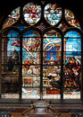 Stained-glass Window In Church Stock Photo - 8909980