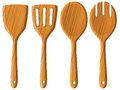 Wooden Spoon And Spatula Royalty Free Stock Photos - 89084278