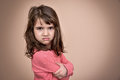 Angry Young Girl Stock Images - 89092474