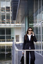 Business Woman On The Phone Stock Photography - 8913352