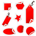 Stickers Collection Royalty Free Stock Images - 8914829