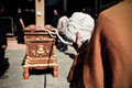Thai Buddhism Monk Religious Prayingl For The Cremation. The Cor Royalty Free Stock Image - 89120116