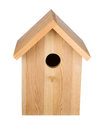 Birdhouse Isolated. Frontal View Royalty Free Stock Photography - 89126067