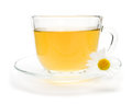 Camomile Tea With Chamomile Flower Isolated On White Royalty Free Stock Photos - 89141528