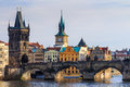 View Of Charles Bridge (Karluv Most) And Old Town Bridge Tower, Royalty Free Stock Photo - 89168195