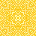 Abstract Star Ornament Yellow Stock Images - 89178284