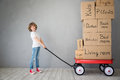 Child New Home Moving Day House Concept Royalty Free Stock Photo - 89193855