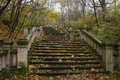 Stairs In Autumn Royalty Free Stock Photography - 8922917
