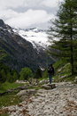 Walking In Alps Stock Image - 8924601