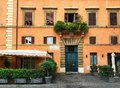 Old House Facade On Piazza Farnese Rome Stock Photography - 89212962