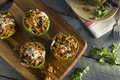 Homemade Meat And Rice Stuffed Bell Peppers Stock Photos - 89214563