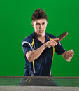Handsome Table Tennis Player Stock Images - 89236284