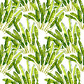 Seamless Pattern With Tropic Plants Royalty Free Stock Images - 89249819