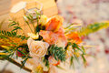 Table For The Wedding Ceremony, Flower Arrangement. Wedding Deco Royalty Free Stock Photography - 89290797