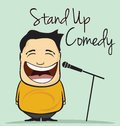 Stand Up Comedy Royalty Free Stock Image - 89321046