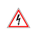 High Voltage Sign Stock Images - 89324544