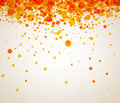 Background With Orange Drops. Royalty Free Stock Image - 89336956