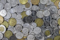Large Pile Of Canadian Change Stock Photography - 89354562
