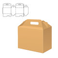 Clear Carton Box Stock Photography - 89360682