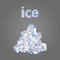 Heap Of Ise Cubes Royalty Free Stock Photography - 89366317