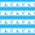 Seamless Pattern With Anchors. Ongoing Backgrounds Of Marine Theme. Royalty Free Stock Photo - 89393235