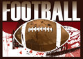 American Football Poster Stock Images - 8943284